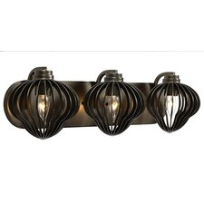 Clout 3 Light Bath Vanity Light