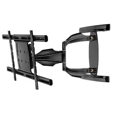 "SmartMount Extra Large Articulating Wall Bracket for 37-63"" Screens in Gloss Black"