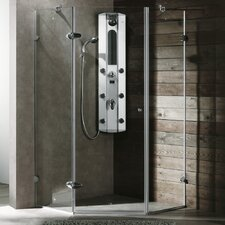 Neo-Angle Door Frameless Shower Enclosure