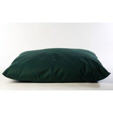 Indoor/Outdoor Shebang Dog Bed in Solid Green