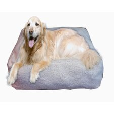 Cloud Sherpa Pouf Pet Bed