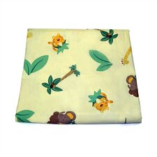Jungle Babies Crib Sheet