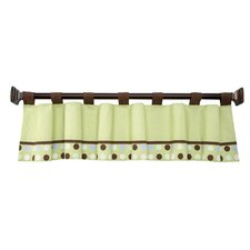 Jungle Pals Tab Top Tailored Curtain Valance