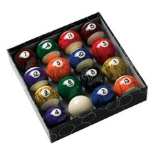 Action Billiard Balls Black Marble Balls
