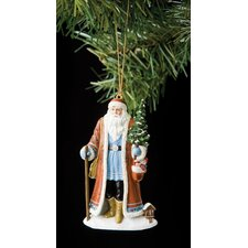 """Julenissen of Norway"" Santa with Tree Ornament"