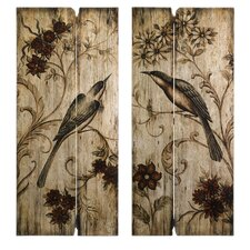 Norida Bird Decor Wall Art (Set of 2)