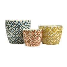 Kelly Bright Planters (Set of 3)
