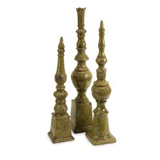 Davignon Tall Finials (Set of 3)