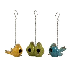 Mercade Hanging Birdhouse (Set of 3)