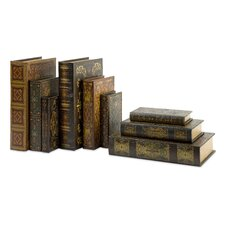 Mendez Book Boxes (Set of 9)
