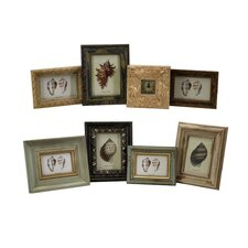 Eight Piece Seaside Assorted Picture Frame (Set of 8)