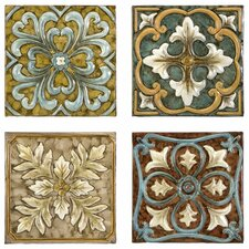 Casa Medallion Tiles (Set of 4)