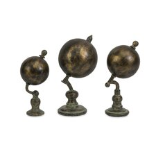 Watson World Globe (Set of 3)