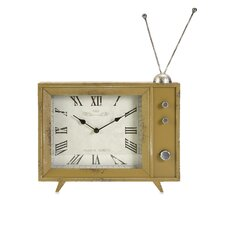 Garrett Retro TV Clock