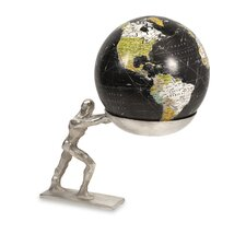 Man Holding the World Globe