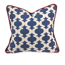 IK Printed Linen Pillow