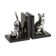 Cat Bookends (Set of 2)
