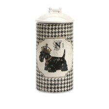 Dog Ceramic Large Canister