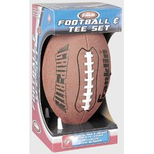 Junior Official Grip-Rite PVC Football and Tee