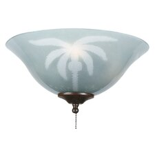 Tropical Ceiling Fan Glass Bowl Shade