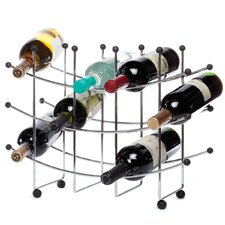 Fusion 15-Bottle Wine Rack