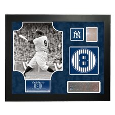 MLB Retired Number Yogi Berra Framed Collage - New York Yankees
