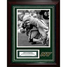 Joe KlecKo Unsigned Turf Collage with Photograph