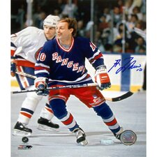 "Guy Lafleur 16"" Autographed NY Rangers Action Photograph"