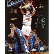 NBA David Lee Dunk Vs. Wizards Autographed