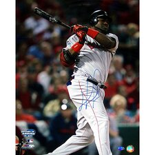 David Ortiz Autographed 2004 WS Game 4 Double
