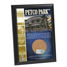 MLB Petco Field Game Used Dirt Plaque