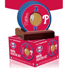 MLB Philadelphia Phillies Coasters (Set of 4)