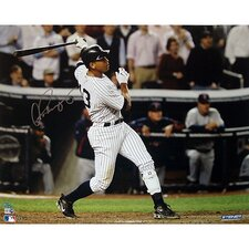 MLB Alex Rodriguez Two Run Home Vs. Twins Horizontal Photograph