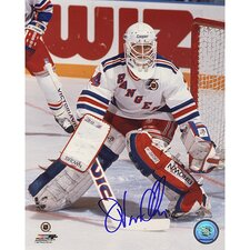 John Vanbiesbrouck White Jersey Photo