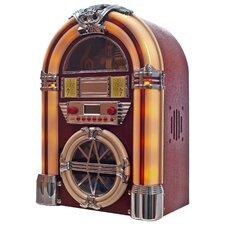 Juke Box with AM / FM, CD, MP3 and Flashing Lights