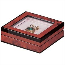 "Extraordinary Large 1.25"" High Stone Presentation Box"