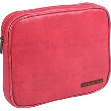 "Carmen 9"" - 11"" iPad/Netbook Sleeve in Coral Red"