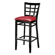 "Beechwood 30"" Lattice Back Barstool"