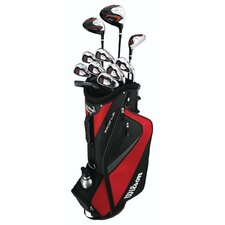 Left Handed Mens Lefty Golf Set with Bag