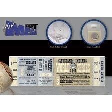 MLB 1948 World Series Mini Mega Ticket - Cleveland Indians