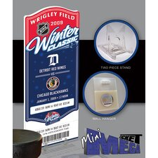 NHL 2009 Winter Classic Mini Mega Ticket