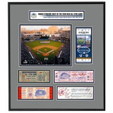MLB 2008 All-Star Game Commemorative Ticket Frame Jr. - New York Yankees