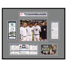 MLB Final Game Ticket Frame - New York Yankees