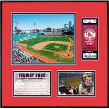 MLB That's My Ticket Boston Red Sox Fenway Park Ticket Frame (Horizontal) - Boston Red Sox