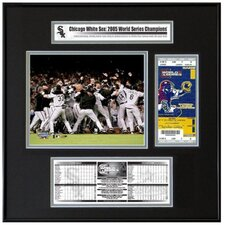 MLB 2005 World Series Ticket Frame Jr. - Team Celebration - Chicago White Sox