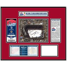 NHL Winter Classic Ticket Frame - Aerial Photo - Chicago Blackhawks