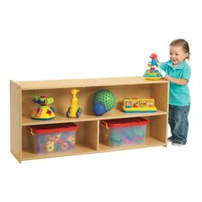 Value Line Toddler Two Shelf Storage