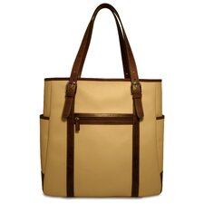 Lugano Oversized Tote in Cream