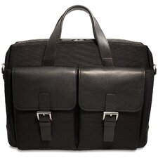 Generations Lite Top Zip Briefcase in Black