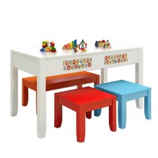 Paul Frank® Play Kids' 4 Piece Table and Chair Set